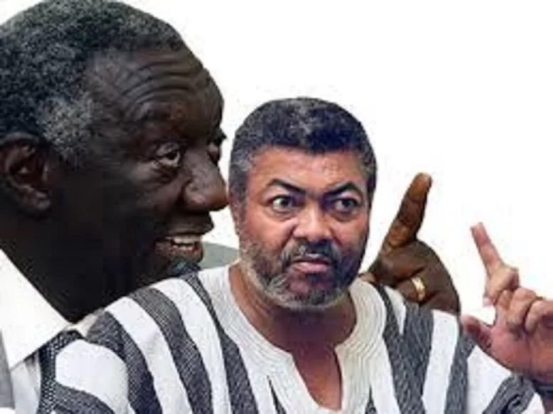 Rawlings and Kufuor ignore each other again in parliament ...